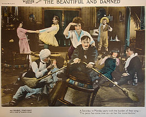 English: Fourth of six lobby cards for 1922 lo...