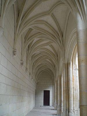 Musée des Beaux-Arts d'Angers - Architectural detail