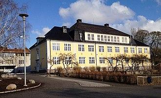 Georg Greve (architect) - Image: Bekkelaget skole
