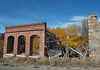 Belmont, Nevada - Ruined building