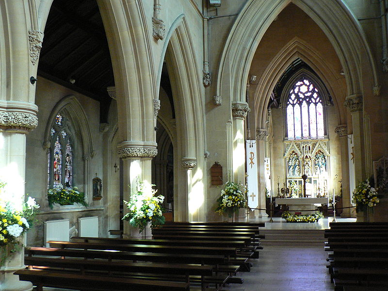 File:Belmont Abbey, Interior.JPG