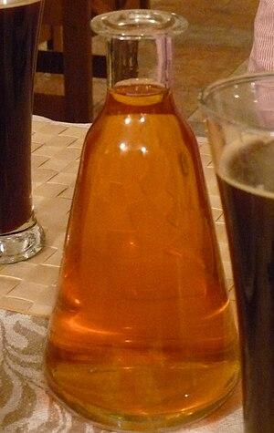 Krambambula (drink) - Belarusian Krambambula in a Moscow restaurant