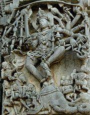 Hoysala Empire sculptural articulation in Belur