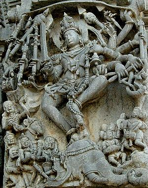 The Hoysala arhictecture is noted for its elab...