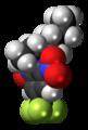 Benfluralin molecule spacefill.png