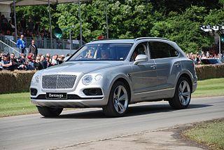 Bentayga (Mk1) - Bentley
