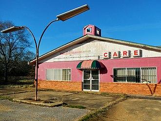 Benton, Alabama - Image: Benton, Alabama Pink CARE Building