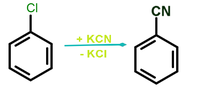 Benzonitrile synthesis from phenyl chloride.png