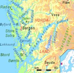 kart hardangerfjorden Hardangerfjorden – Wikipedia kart hardangerfjorden