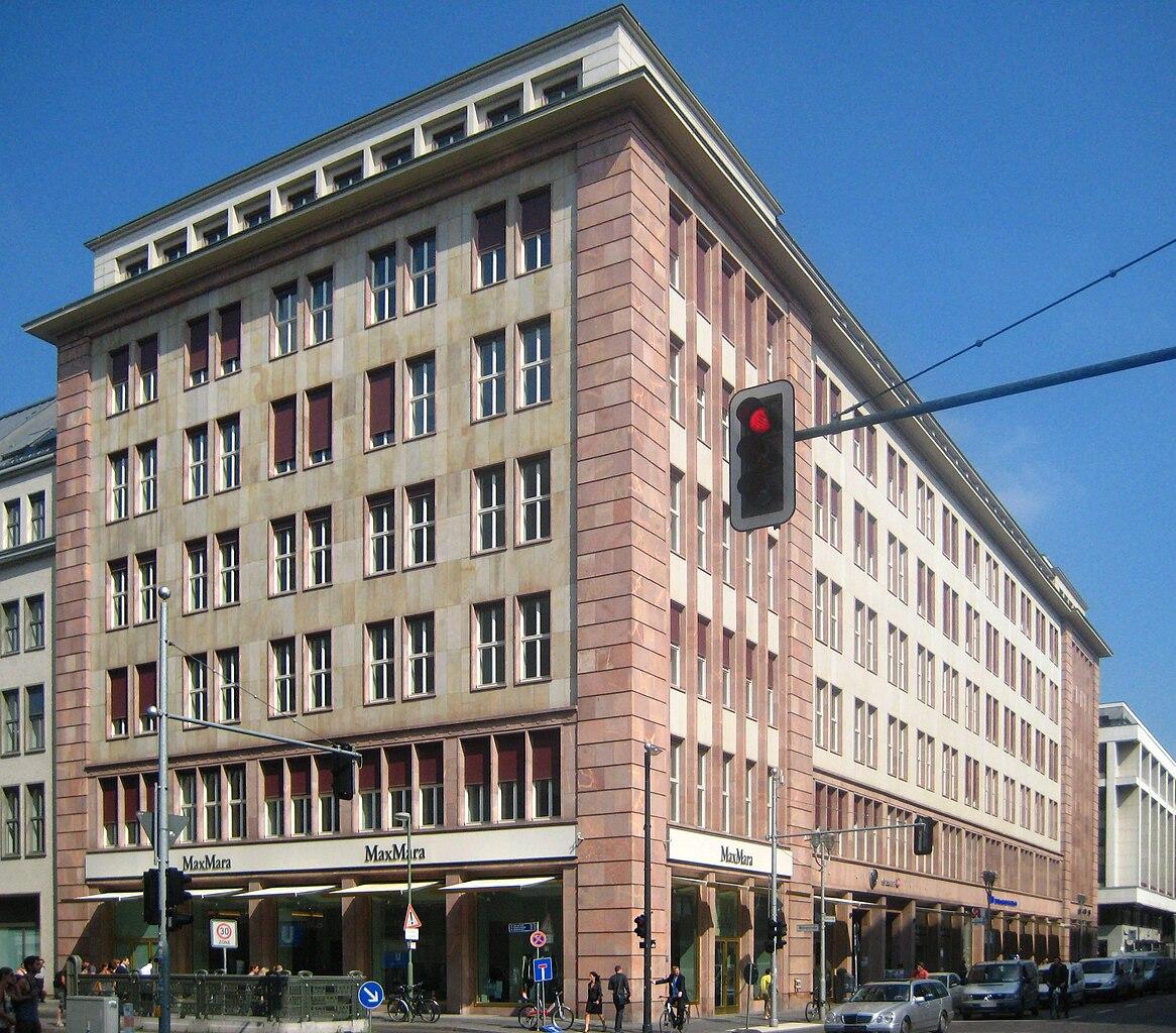 File Berlin Mitte Friedrichstrasse Buerohaus Deutsche