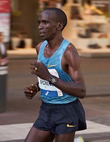 Eliud Kipchoge, detentore del record mondiale della maratona