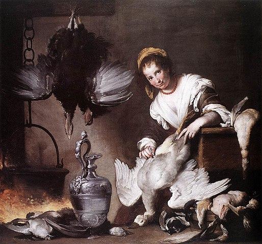 Bernardo Strozzi, La cuoca 1625
