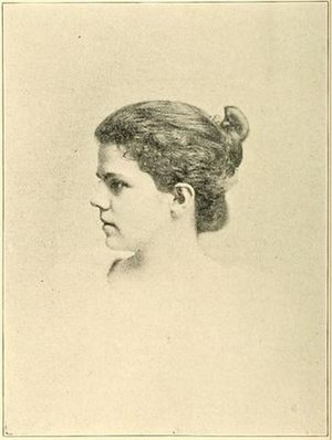 John F. Lacey - Bernice Lacey, daughter of John F. Lacey, in Washington, D.C. with her father