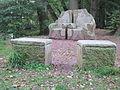 Bersenbrück Skulptur Karpfenthron.JPG