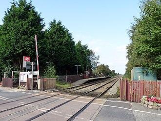 Bescar Lane railway station - Image: Bescar Lane railway station, 2008