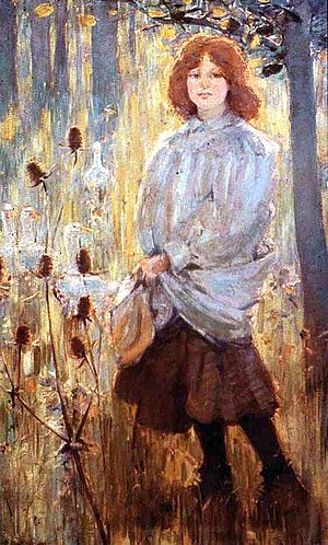 Glasgow School - Image: Bessie Mac Nicol The Goose Girl 1898