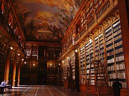Bibliothèque monastery Strahov