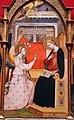 Bicci di lorenzo, annunciazione tra i ss. michele, giacomo minore, margherita e giovanni e., 1414 (stia, s.m. assunta) 02.JPG