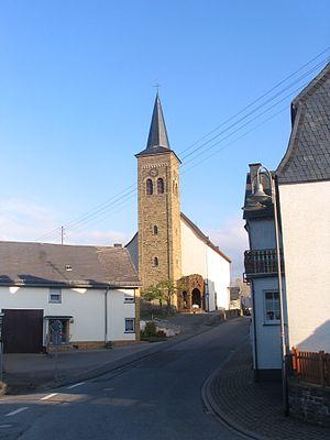 Bickenbach, Rhineland-Palatinate - Hauptstraße 3: Saint Stephen's Catholic Parish Church