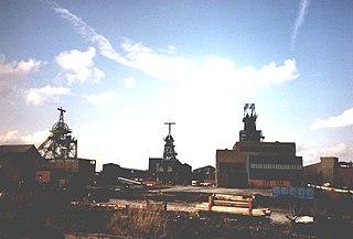 Bickershaw Colliery