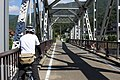 Bicycle through Kinmei bridge.jpg