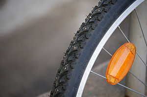 Winter Tires for Bicycle