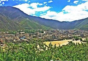 Biru County - Image: Biru town