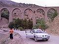 Bisheh Bridge, پل خط آهن دربیشه ازروی پل آهنی - panoramio.jpg