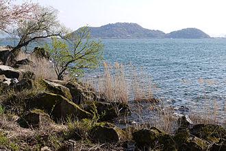 Lake Biwa - Image: Biwako Quasi National Park Omihachiman 06n 3200