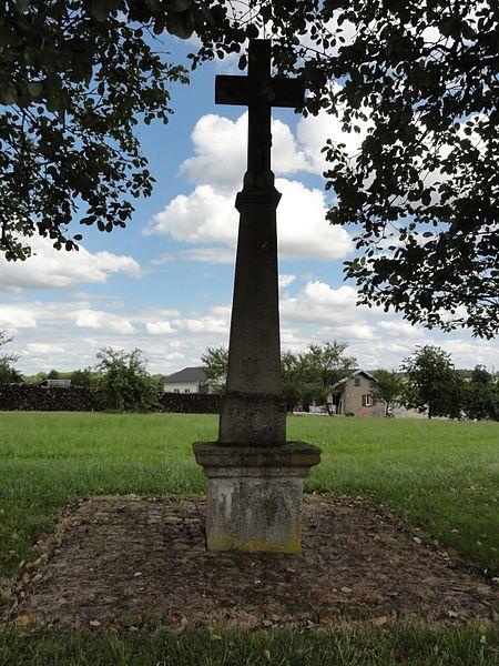 Blémerey (M-et-M) croix de chemin