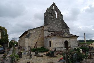 Blésignac - Image: Blésignac Eglise St Roch