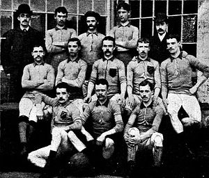 Blackburn Olympic F.C. - The Blackburn Olympic team which won the FA Cup in 1883.