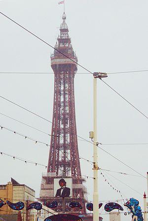 Blackpool Tower, Lancashire, England.