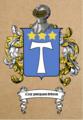 Blason de la Famille ROCHAS (créer par Gaspard VINCENT DAVID DE SAUZEA).png