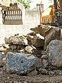 Blauer Beton, Fundament Abbruchhaus.jpg