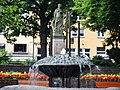 Blick auf das Kriegerdenkmal 1864, 1866, 1870-71 in Siegen vom Bildhauer Friedrich Reusch aus Königsberg - panoramio.jpg