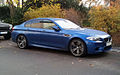 Blue BMW M5 (F10) fr.jpg