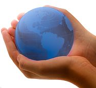 Blue Earth In Child's Hands.jpg