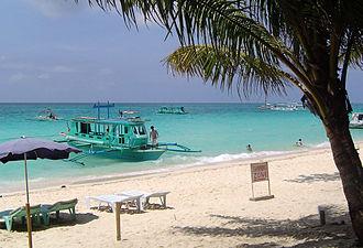 Malay, Aklan - White Beach, Boracay Island