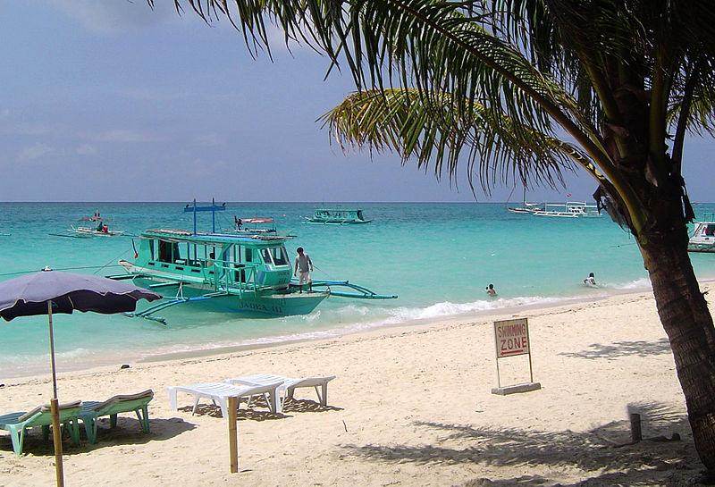 File:Boat on boracay beach.jpg