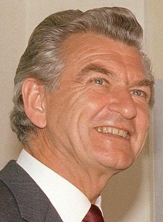 1983 Australian federal election - Image: Bob Hawke Portrait 1983