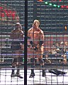Bobby Lashley and Test at ECW December to Dismember in 2006.jpg