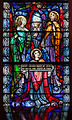 Bocan St. Mary's Church Nave North Wall Window 02 Sacred Heart of Jesus Detail Eucharist 2014 09 09.jpg