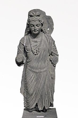 Government Museum and Art Gallery, Chandigarh - Bodhisattva Maitreya, c. 2nd century AD, Gandhara