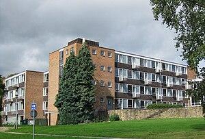 Bodington Hall - 1960s style flats