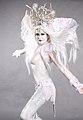 Bodypainted Snow Queen (10508945455).jpg