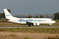 YR-BAF - B733 - Blue Air