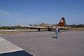 Boeing B-17G-85-DL Flying Fortress Nine-O-Nine Landing Taxi 19 CFatKAM 09Feb2011 (14797253180).jpg