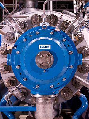 Sulzer (manufacturer) - Sulzer Boiler Feed Pump