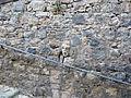 Bolsena, testa murata sulla rampa tra città alta e bassa 01.JPG
